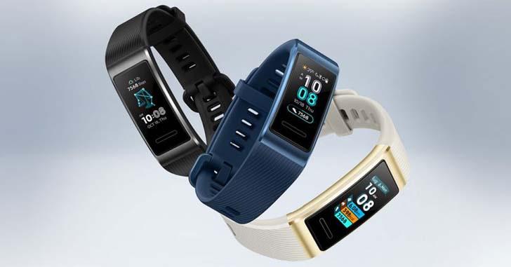 Фитнес-браслет Huawei Band 3 Pro получил AMOLED-экран