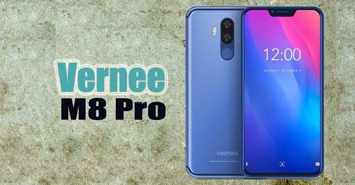 Смартфон Vernee M8 Pro с NFC получил ценник в $280