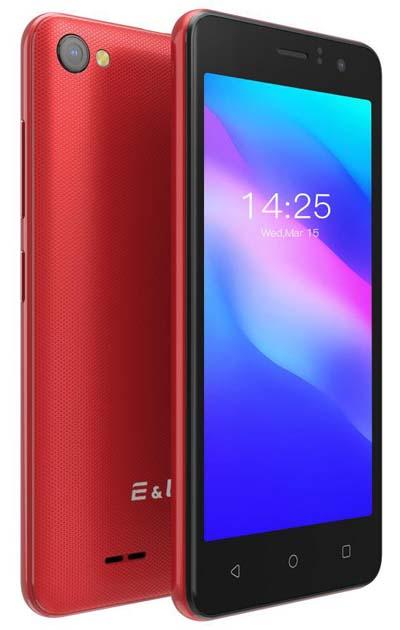 Смартфон начального уровня EL W45 с технологией RawColor стоит всего $37