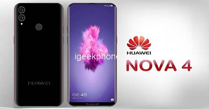 Появилась первая информация о смартфоне Huawei Nova 4