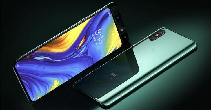 Распаковка нового смартфона Xiaomi Mi Mix 3 на видео