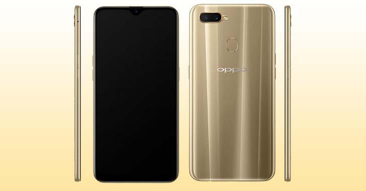 Смартфон Oppo A7 на Snapdragon 450 будет стоить $230