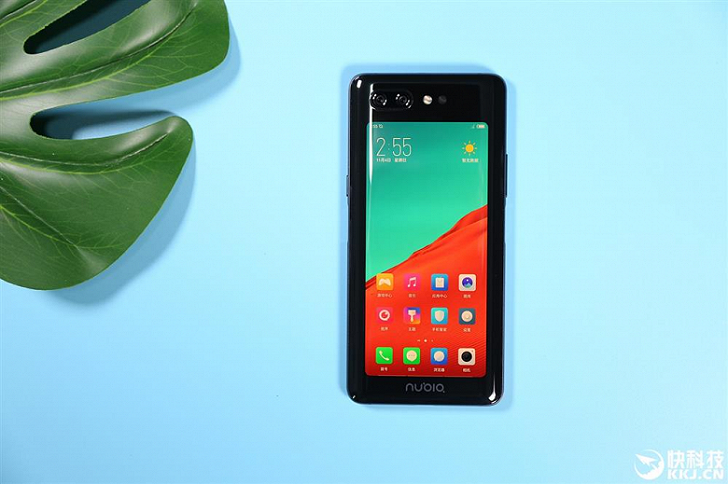 Представлен мощный смартфон с двумя экранами Nubia X