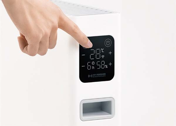 Компания Xiaomi выпустила умный электрообогреватель