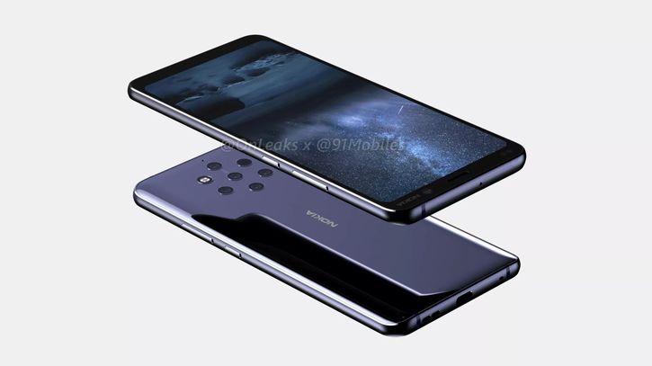 Флагман Nokia 9 с пятью камерами на 3D-рендерах и видео