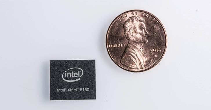 Intel анонсировала 5G-модем XMM 8160 для смартфонов