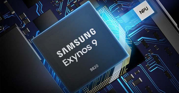 Компания Samsung представила флагманский чипсет Exynos 9820