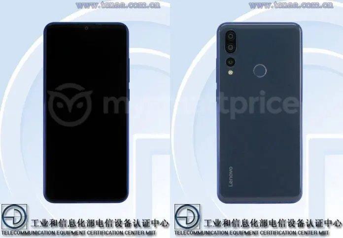 В TENAA замечен смартфон Lenovo с тройной основной камерой