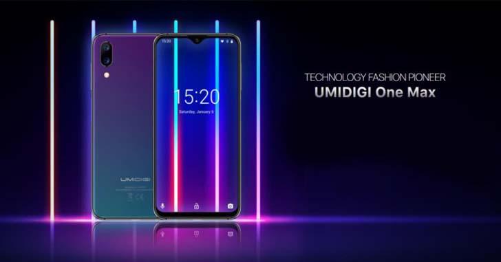 Umidigi One Max получил беспроводную зарядку и модуль NFC