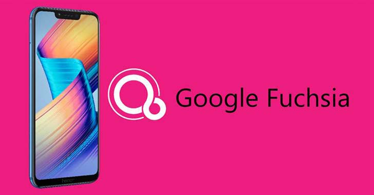 На смартфоне Honor Play тестируют Fuchsia OS