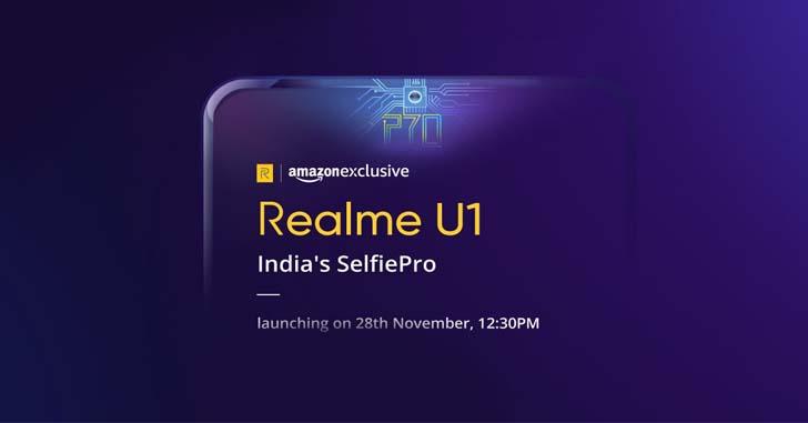 Раскрыты основные характеристики смартфона Realme U1