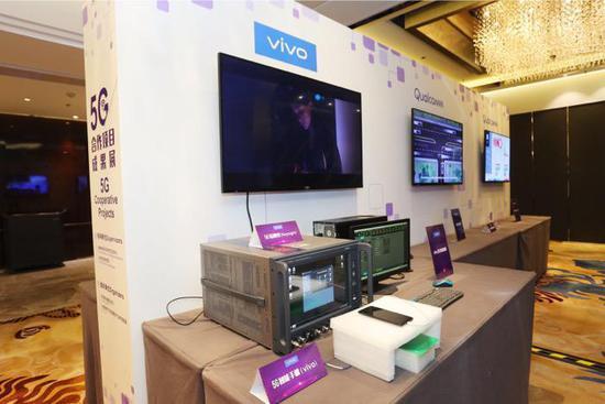 Компания Vivo показала смартфоны, работающие в сети 5G