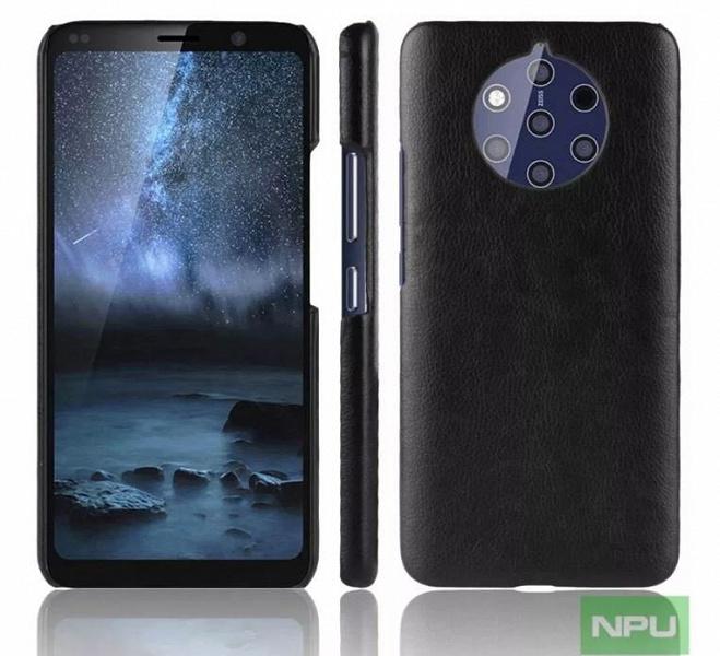 Nokia 9 в чехле показали на новых изображениях