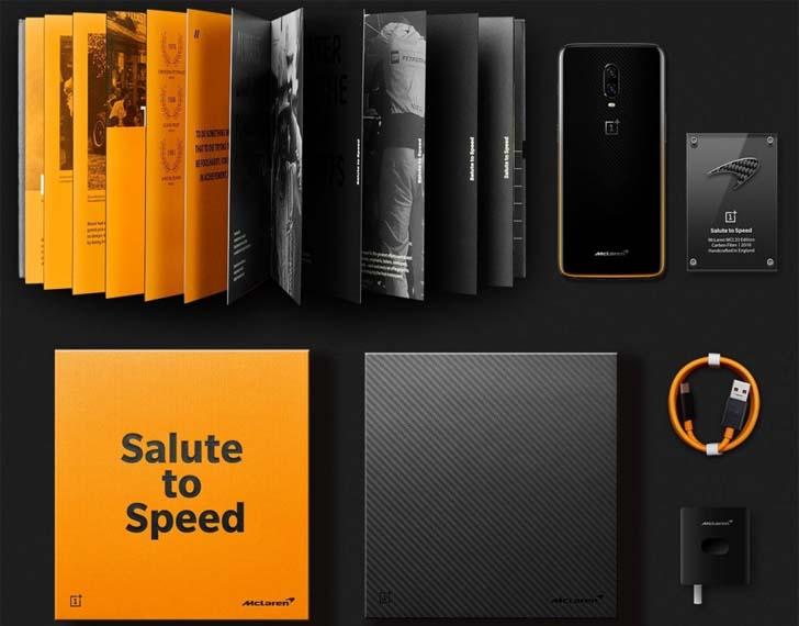 """Представлен """"гоночный"""" смартфон OnePlus 6T McLaren Edition"""