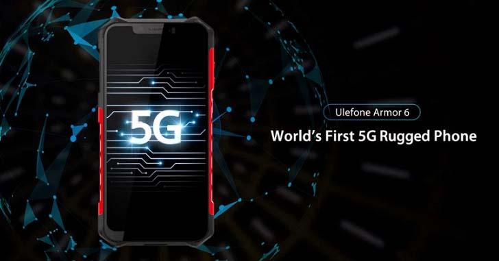 Ulefone готовит первый в мире защищенный 5G-смартфон