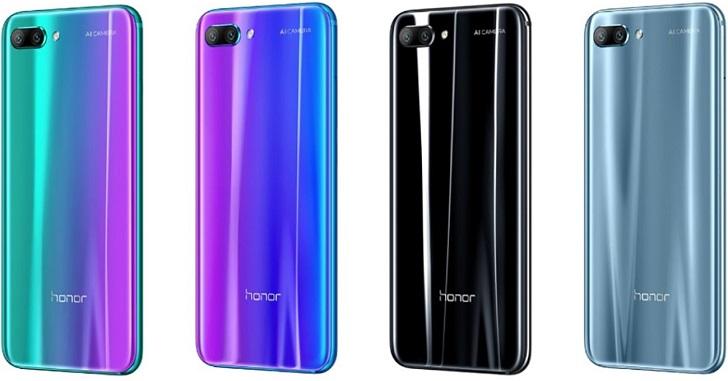 Honor 11 получит двойную основную камеру с общим разрешением 68 Мп