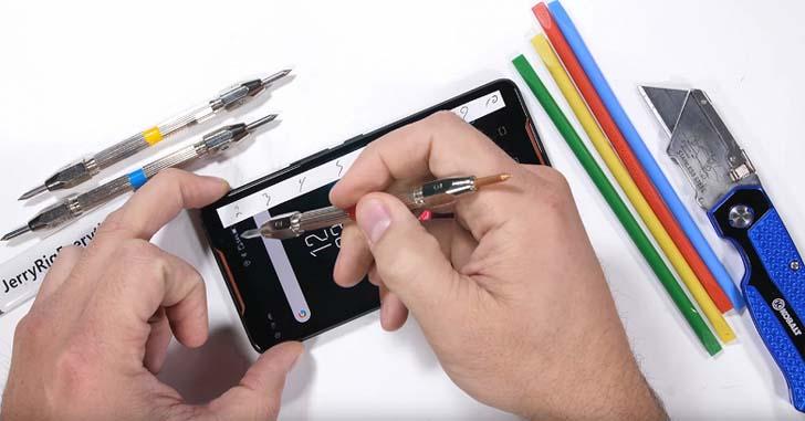 Игровой смартфон Asus ROG Phone проверили на прочность