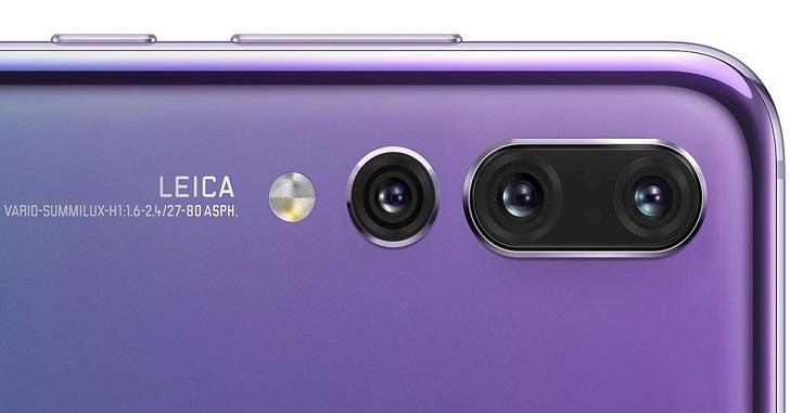 Huawei P30 получит камеру с пятикратным оптическим зумом