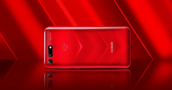 Honor V20 представлен официально: самый дешевый смартфон на Kirin 980