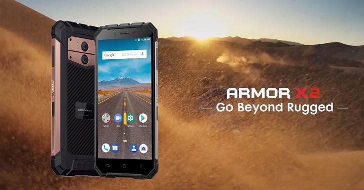 Неубиваемый смартфон Ulefone Armor X2 с NFC получил ценник $99.99