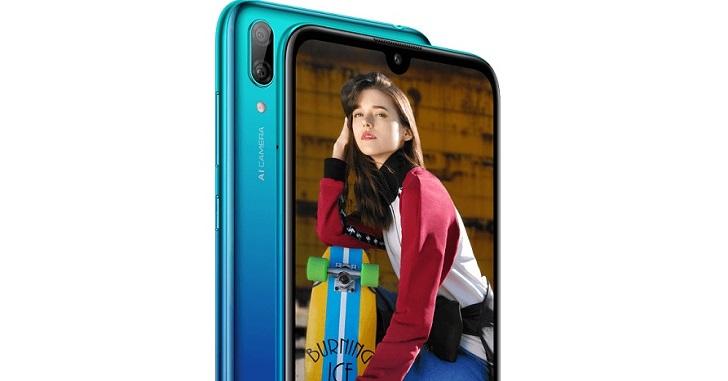 Известны характеристики бюджетника Huawei Y7 (2019)