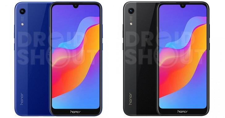 Опубликованы изображения бюджетного смартфона Honor 8A