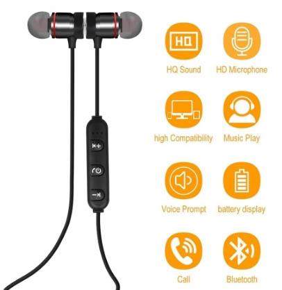 Наушники Wireless BT 4.1 Outdoor Sport In-ear Earphone всего за €3,07!