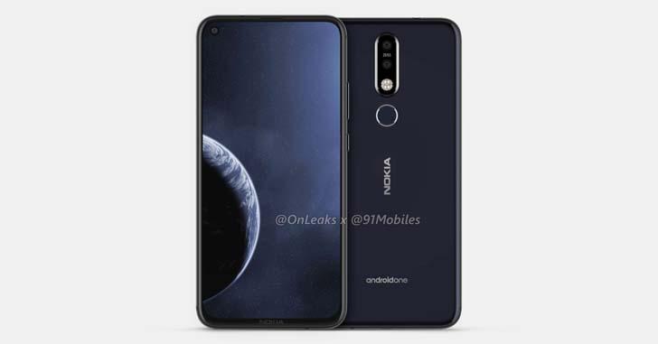 "Смартфон Nokia с ""дырявым"" дисплеем на фото и видео"