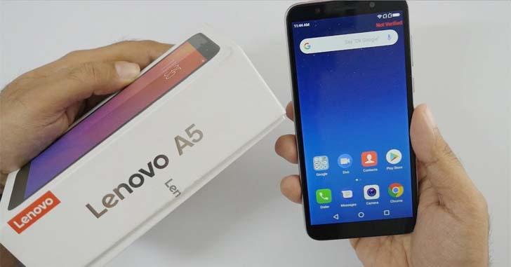 Lenovo A5S оснастят чипом MediaTek Helio A22
