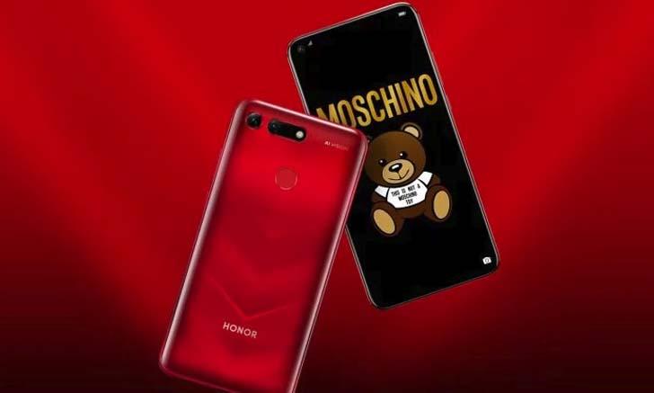 Стартовали продажи смартфона Honor V20 Moschino Edition