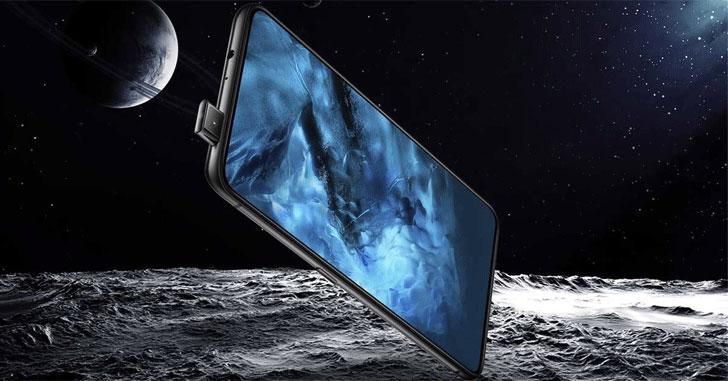 Смартфон Vivo V15 Pro позирует на живом фото