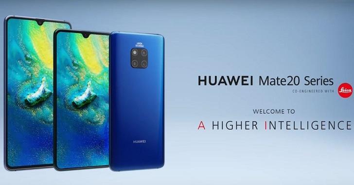 Huawei улучшила камеры моделей Mate 20X и Mate 20 Pro