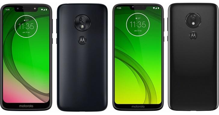 Анонсированы смартфоны Moto G7 Play и Moto G7 Power