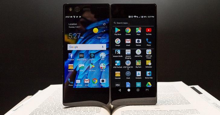 Складной смартфон ZTE Axon M упал в цене на 430 долларов