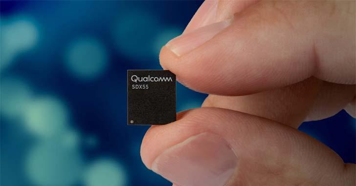 Qualcomm представила модем Snapdragon X55 для сетей 5G