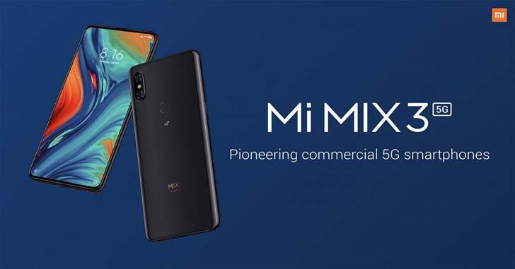 Xiaomi Mi Mix 3 5G сможет транслировать потоковое 8К видео