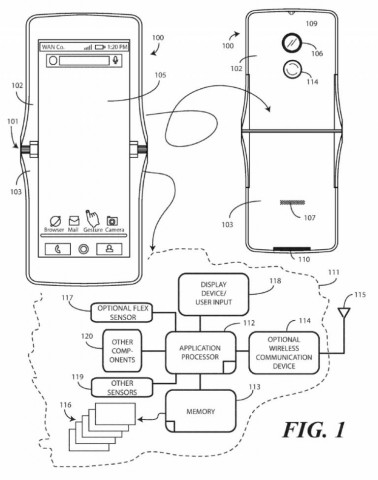 Новые подробности о складном смартфоне Motorola