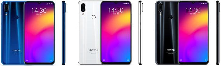Meizu Note 9 в Украине будет стоить 6999 / 7999 гривен