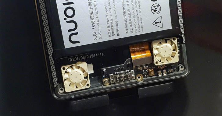 Nubia Red Magic 3 станет первым в мире смартфоном с системой активного охлаждения