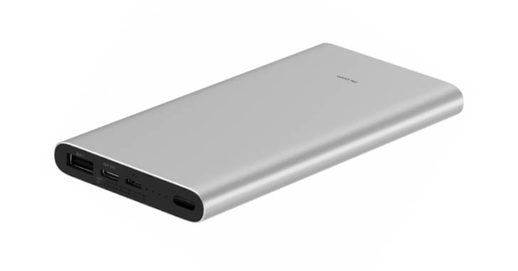 Xiaomi представила внешний аккумулятор с USB Type-C