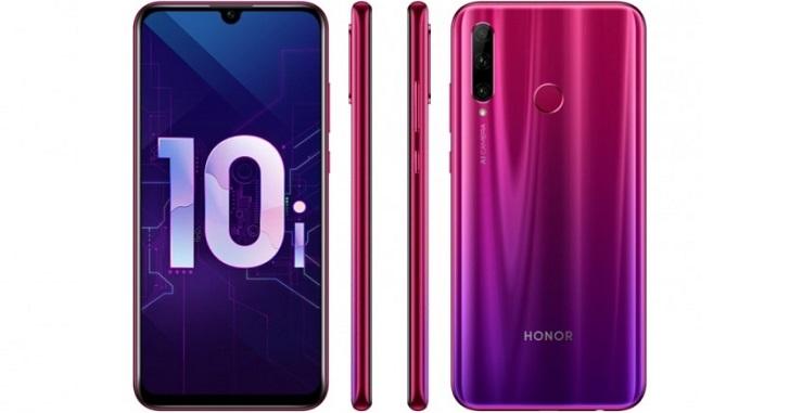Honor 10i представлен официально: Kirin 710 и NFC за $315