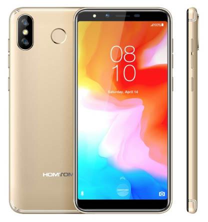В продаже появился доступный смартфон Homtom H5