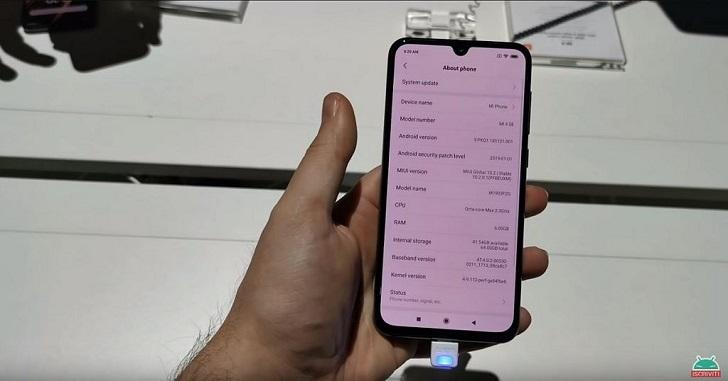 Xiaomi Mi 9 SE готов к глобальному дебюту