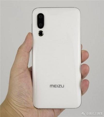 Будущий флагман Meizu 16S показали на очередных живых фото