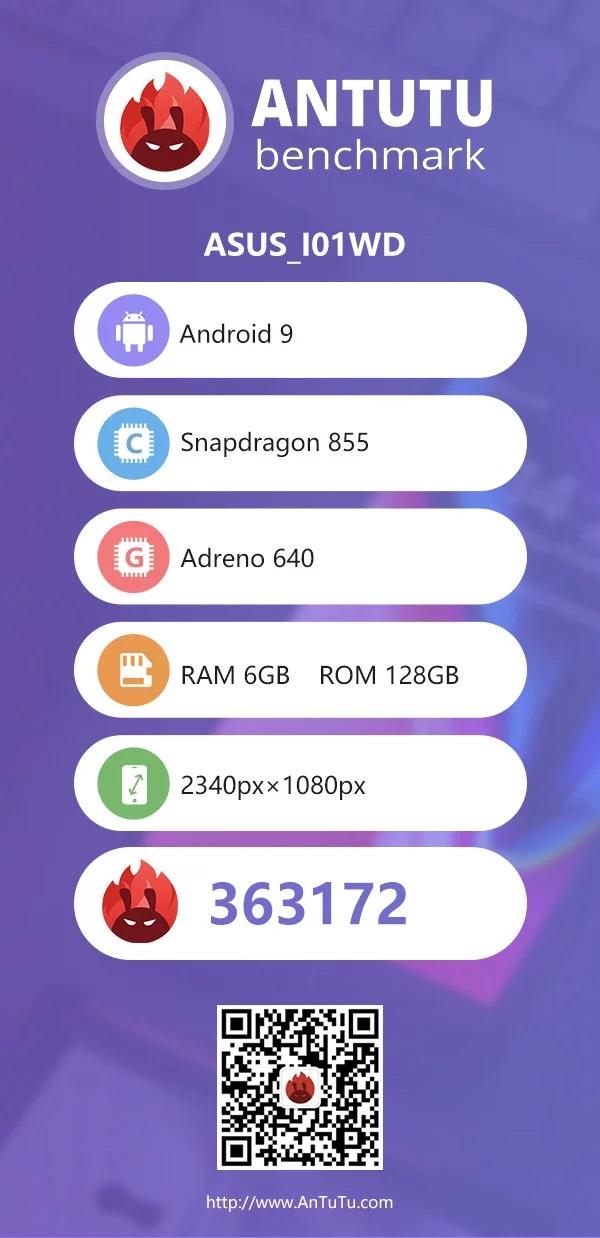 Asus ZenFone 6 показал хороший результат в AnTuTu