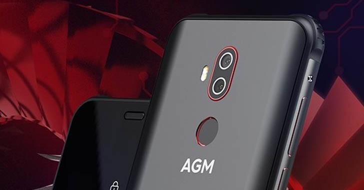 Представлен защищенный смартфон AGM X3 Turbo