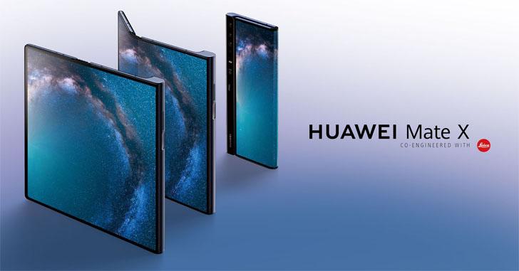 Складной смартфон Huawei Mate X появился в официальном магазине