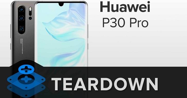 Huawei P30 Pro отличается не самой лучшей ремонтопригодностью