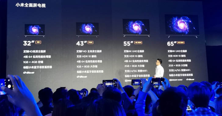 Новые телевизоры линейки Xiaomi Mi TV стоят от $160