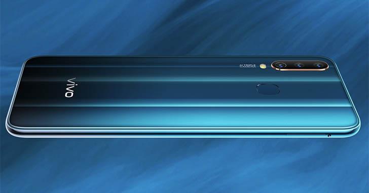 Представлен смартфон Vivo Y17 с чипом Helio P35